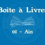 Boîte à livres – Code postal, ville – (01) Ain