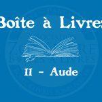 Boîte à livres – Code postal, ville – (11) Aude