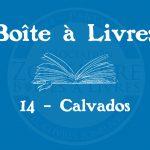 Boîte à livres – Code postal, ville – (14) Calvados