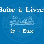 Boîte à livres – Code postal, ville – (27) Eure