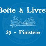 Boîte à livres – Code postal, ville – (29) Finistère