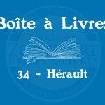 Boîte à livres – 34 – Hérault