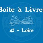 Boîte à livres – Code postal, ville – (42) Loire