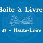 Boîte à livres – Code postal, ville – (43) Haute-Loire