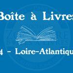 Boîte à livres – 44 – Loire-Atlantique