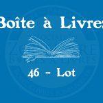Boîte à livres – 46 – Lot