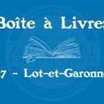 Boîte à livres – 47 – Lot-et-Garonne