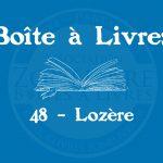 Boîte à livres – 48 – Lozère