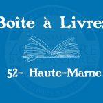 Boîte à livres – 52 – Haute-Marne