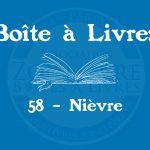 Boîte à livres – Code postal, ville – (58) Nièvre