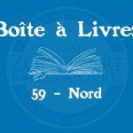 Boîte à livres – Code postal, ville – (59) Nord