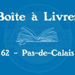 Boîte à livres – Code postal, ville – (62) Pas-de-Calais