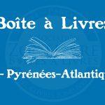 Boîte à livres – Code postal, ville – (64) Pyrénées-Atlantiques