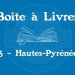 Boîte à livres – Code postal, ville – (65) Hautes-Pyrénées
