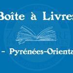 Boîte à livres – Code postal, ville – (66) Pyrénées-Orientales
