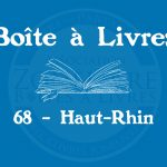 Boîte à livres – Code postal, ville – (68) Haut-Rhin
