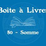 Boîte à livres – Code postal, ville – (80) Somme