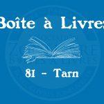 Boîte à livres – Code postal, ville – (81) Tarn