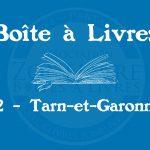 Boîte à livres – Code postal, ville – (82) Tarn-et-Garonne