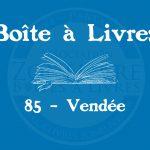 Boîte à livres – Code postal, ville – (85) Vendée