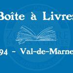 Boîte à livres – Code postal, ville – (94) Val-de-marne