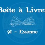 Boîte à livres – Code postal, ville – (91) Essonne