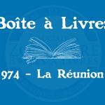 Boîte à livres – Code postal, ville – (974) La Réunion